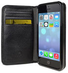 Cygnett Alec Leather Wallet iPhone 5/5s Case + Screen Protector Original $49.95 Now $8.95
