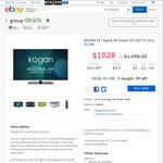 "KOGAN 55"" Agora 4K Smart 3D LED TV - $1028 - Kogan eBay Group Deals"