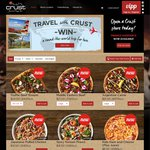 Crust Pizza - Free Dessert Pizza Crumble When Buying 2 Large Gourmet (Use PayPal)