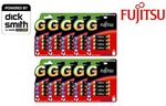 Fujitsu Alkaline Battery AAA 80pk | $15.95 or AA 80pk | $17.95 Delivered @ Groupon