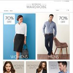 70% OFF All Mens and Womens Business Shirts, Polos & Knits @ Working Wardrobe
