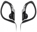 Panasonic Sports Clip BLACK RP-HS34E-K Earphones $9.84 (Click&Collect) @ Dick Smith