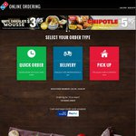 Domino's Pizza Traditional Pizza $6.95 or Chef's Best $7 - Pickup Only