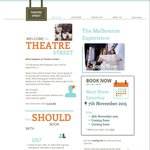 TheatreStreet Melbourne Show $40 off $60 = Adult $20
