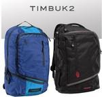 """Timbuk2 Q Laptop Backpack, M (15""""), Black or Blue, $32.98 Delivered @ OffTheBack"""