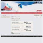 Thredbo NSW - Adult 4 Day Flexi Pass $329