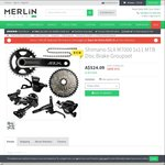 Shimano SLX 1x11 Groupset including Brakes $484 Shipped from Merlin Cycles