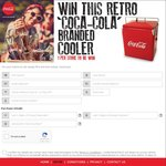 Win 1 of 993 Coca Cola Branded Pop-up Coolers (50L Capacity) from Coca-Cola/Woolworths