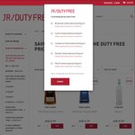 JR Duty Free. Save an Extra 20% off The Duty Free Price on All Liquor