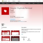 Free Windows 10 App: Singuler: Duplicate Removal Tool (Was $12.29)