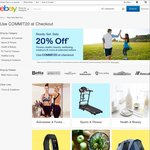"""20% off 34 Selected Stores @ eBay (Dell, Futu, Big W, Kathmandu, Toys """"R"""" Us, Betta Home & Living, COTD, Sony + More)"""