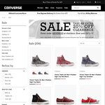 Extra 20% off Clearance @Converse