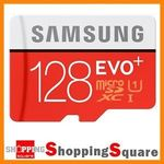 128GB microSD Cards - Samsung EVO Plus [80MB/s]: $45.89 or Toshiba Exceria [90MB/s]: $45.85 Posted at Shopping Square on eBay