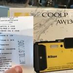 Nikon Coolpix AW130 16MP Digital Camera, $250 @ JB Hi-Fi