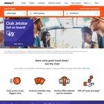 Club Jetstar Membership $49 Joining Fee, No Annual Fee 1st Year, Free Travel $20 Voucher