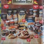 Oktoberfest @ ALDI - Bratwurst Sausages 300gm $2.99, Bavarian White Sausages 530gm $3.99, Sauerkraut 450gm $1.99 + More (20/9)