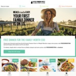 Free Meals up to The Value of $50.00 with Aussie Farmers Direct