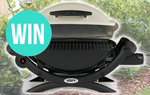 Win a Weber Baby Q™ Worth $320 from Caravanning With Kids