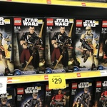 LEGO Star Wars Buildable Figures $19 at Target