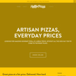 Hellopizza - $10 off $30 Online Purchase