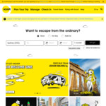 Scoot - Flights - Perth to Athens from $598
