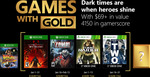 Xbox Games with Gold January 2018 - Van Helsing III, Zombi, Tomb Raider Underworld & Army of Two