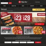 Free Stuffed Crust Upgrade @ Pizza Hut