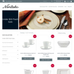 Noritake (Dinnerware / Cutlery) under $10 Flash Sale + Flat Rate Shipping $9.99