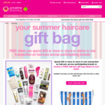 Spend $49 or More at Priceline (In-Store) on Selected Haircare Brands and Receive a Free Gift Bag Worth $230