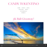 Win a Healing/Adventure Retreat in Bali Worth $6354 from Candy Tolentino