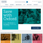 Oxford University Press Australia: Take 20% off Textbooks and Free Shipping
