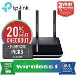 TP Link Archer VR600 ADSL\VDSL AC1600 Modem\Router - $106.87 Delivered Via Wireless1 eBay with Code ($112.51 W\O Code)