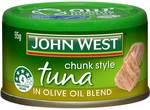 50% off John West Tuna 95g Range ($1) at Woolworths