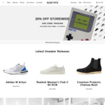 20% off Full Priced Items @ Subtype Store
