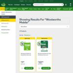 Woolworths Mobile $2 Prepaid SIM - $1 @ Woolworths