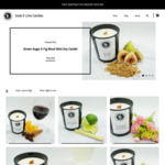 10% off Soy Wood Wick Candles (Minimum $50 Spend + Free Shipping) @ Soda Lime Candles