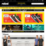 20% off Storewide @ Rebel Sport (Online & In-Store)