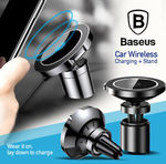 Baseus Car Mount Qi Wireless Fast Charger Holder for iPhone Samsung 20% off $31.34 Delivered from Sydney @ MobileMall on eBay