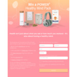 Win a Healthy Mind Prize Pack incl Bang & Olufsen BeoPlay H4 Headphones from Power5 Health