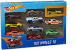 Hot Wheels Basic Diecast Cars 10pk for $10 @ Big W