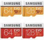 Samsung EVO Plus 128GB Micro SD Card $43.20 / 256GB $108.80 @ Futu eBay