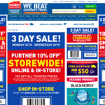 10% off Storewide @ Chemist Warehouse (No Min Spend, Free Shipping Over $50, Online & Instore)