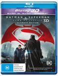 Batman V Superman: Dawn of Justice (3D Blu-Ray/ Blu-Ray/ Ultraviolet) - $5.58 + Delivery (Free C&C) @ JB Hi-Fi