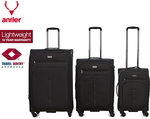 Antler Titus 3-Piece Suitcase Set - Navy (Was $997) Now $349 @ Catch