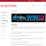 Win 1 of 12 Minis (1 Per Week) with $100 Spend at JR Duty Free from James Richardson Pty Ltd