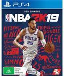[PS4, XB1, Switch] NBA 2K19 $59 @ JB Hi-Fi