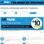 [QLD] 20% off AIRPARK Parking @ Brisbane Airport