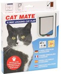 Cat Mate 4 Way Locking Cat Flap - $11.49 C&C or $16.48 Delivered (Was $45.99) @ My Pet Warehouse
