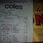 [QLD] Toblerone 800g (4x200g) $4 @ Coles (Kedron) (Possibly Nationwide)