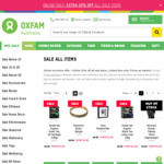Extra 20% off All SALE Items (Already up to 80% off) @ Oxfam Shop (ONLINE Only)